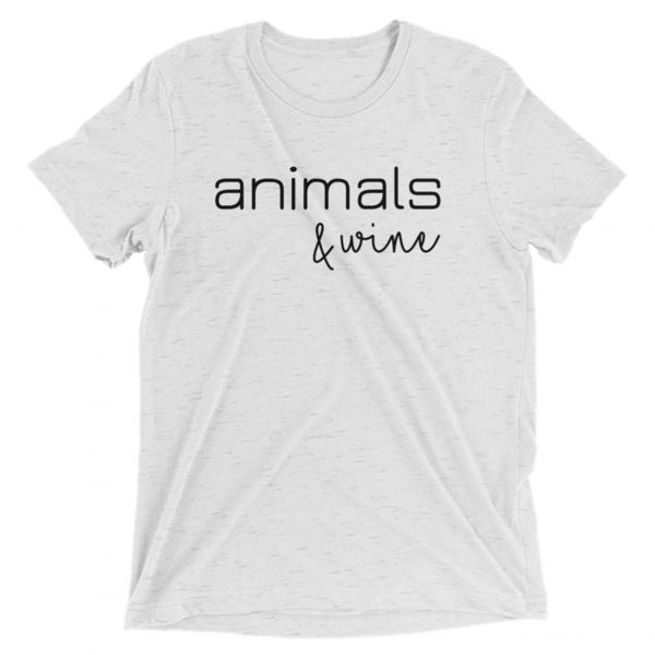 Animals & Wine – Tee in White