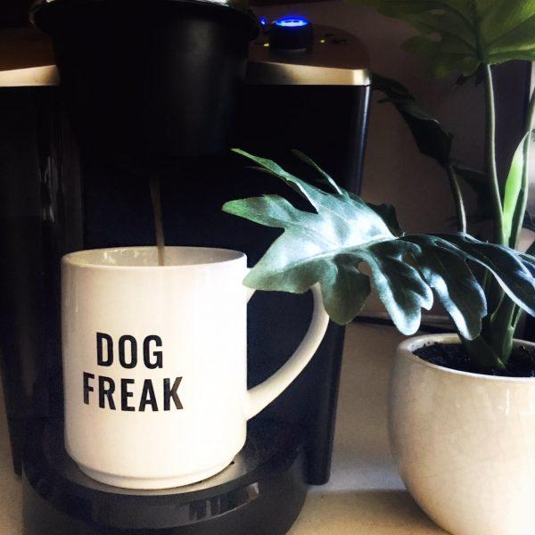 Dog Freak Oversized Coffee Mug