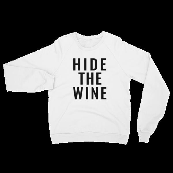Hide The Wine Sweatshirt Mockup