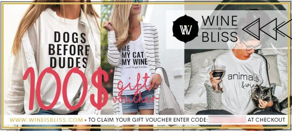 Wine Is Bliss 100 Gift Voucher for website